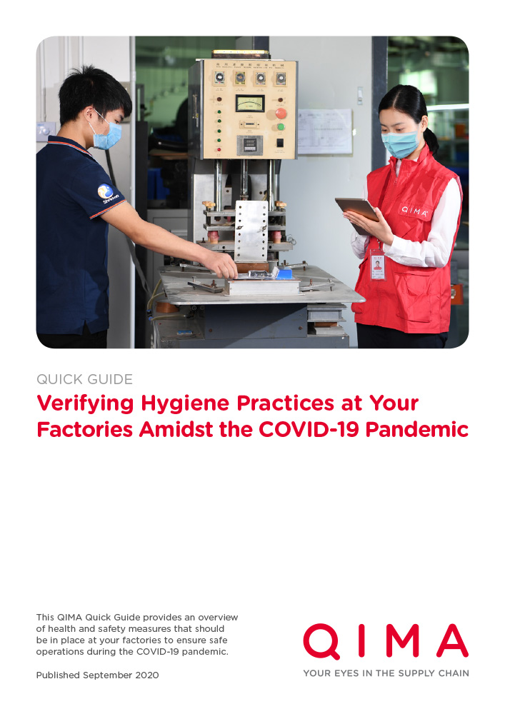 Verifying Hygiene Practices at Your Factories Amidst the COVID-19 Pandemic