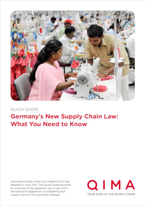 德国拟出台供应链法(2021年):要点须知